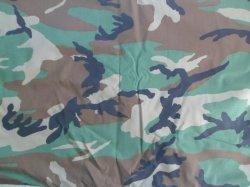 Forrest en nylon ripstop camouflage militaire de tissu de coton