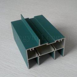 Profil en aluminium recouvert de poudre pour vitre coulissante
