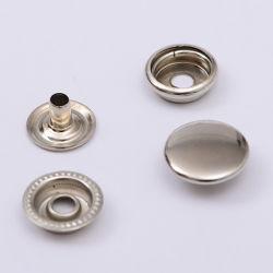 도매 사용자 정의 금속 4개 파트 스냅 버튼 O 스타일