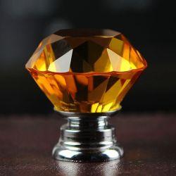 Modernes und einfaches europäisches einzelnes Loch-Kristalldiamant-Griff