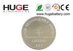 3.6V 리튬 재충전용 단추 세포 Lir1220 (LIR1220)