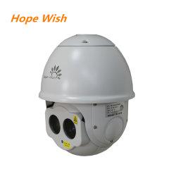 كاميرا IP خارجية ذات ضبط بؤري تلقائي تحت الحمراء ذات قبة عالية السرعة كاميرا الرؤية الليلية للتكبير/التصغير