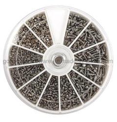 Conjunto de Parafusos de aço inoxidável sortido de máquina para Copos Telemóvel