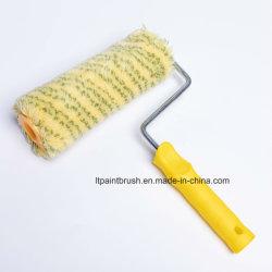 Китай желтый акриловой краской роликовой щетки ручного инструмента оборудования