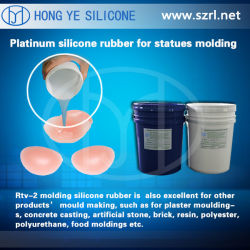 Gomma di silicone del pezzo fuso di vita per la fabbricazione dei rilievi di spalla
