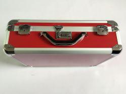 2016 Briefcase con telaio in alluminio con pannello rosso di alta qualità