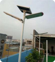 60W de la rue solaires Lampes pour l'éclairage de la campagne avec contrôleur de système d'induction de l'app Téléphone (CNU-260)