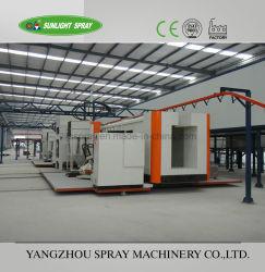 Linea di produzione liquida della pittura del rivestimento della polvere delle rotelle dei mozzi degli autoveicoli della Cina a molti paesi
