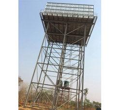 Les frais généraux de l'eau de la tour de réservoir en acier galvanisé