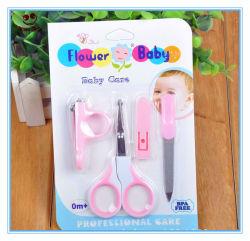 4PCS Cilpper ungueal+ de unhas + Conjunto de beleza unhas de Bebé de segurança