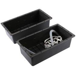 Onduleur en plastique du boîtier de batterie garantie batterie longue boîte étanche souterrain