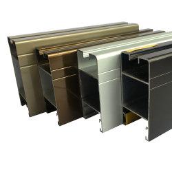 De hete Verkoop Geanodiseerde Profielen van de Uitdrijving van het Aluminium voor Glijdend Venster