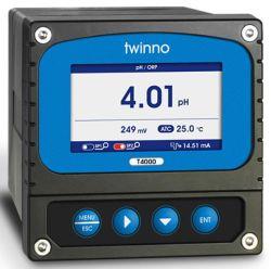T4000 독점적인 신제품 색깔 LCD 디스플레이 물을%s 온라인 감시 pH/ORP 미터 /Controller 4-20mA RS485