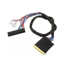ノートLCDドライバーのためのI-Pex 20453-20455 LvdsケーブルへのDu Pont 40pin