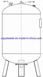 500 Liter-vertikales Druckbehälter-Dynamicdehnungs-Becken mit den austauschbaren Blasen-Membranen