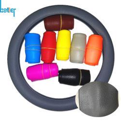 Het Stileren van de Auto van de Dekking van het Stuurwiel van de Auto van de Milieubescherming van het silicone Dekking