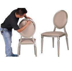 Stile provinciale francese della mobilia del ristorante di banchetto che pranza la presidenza barrocco del francese della parte posteriore della canna del baldacchino del sofà del caffè del Louis
