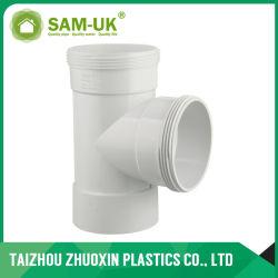 Raccord en T pour l'inspection Combo PVC AS/NZS1260 gaspiller l'eau
