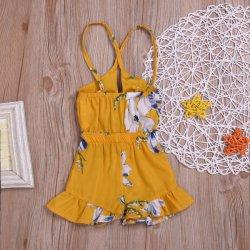Baby Baby Mädchen Kleidung Spitze Halter Backless Jumpsuit Romper Body Sunsuit Outfits Set Esg11529