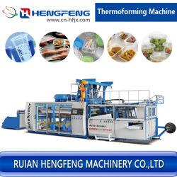 La serie termoformadora automática para fabricar productos de plástico desechables