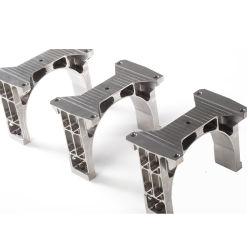 Past het precisie Machinaal bewerkte Aluminium van Vliegtuigen de Muur van de Hoek aan opzet de Steunen van de Plank