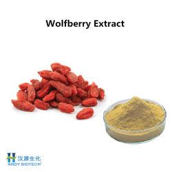 10 % des polysaccharides Wolfberry (extrait de Goji Berry) pour les produits cosmétiques