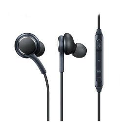 controlo de volume de MP3 Borracha Estéreo Bud no ouvido para a Samsung Galaxy S10