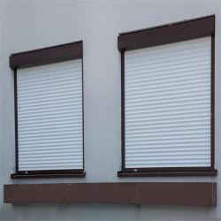 L'isolation thermique automatique et de la vitre de porte en aluminium avec l'obturateur de rouleau