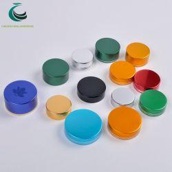 38mm 45mm de alumínio personalizado o parafuso plástico da tampa do vaso para embalagens