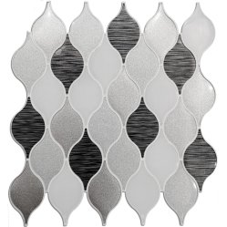Abóbora Shape mosaico de parede para Decoração de parede impermeável