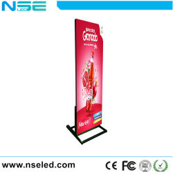 3D Restaurante Publicidade Banner do suporte do retrovisor interior LED Digital Cartaz