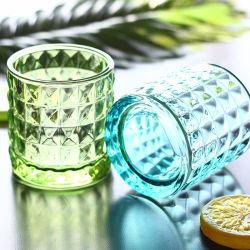 Vela de cristal personalizado de la Copa Europea de Portavelas de pulverización