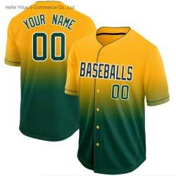 Los bordados de moda un ajuste cómodo y transpirable de Atletismo de malla de desgaste de Gimnasio de béisbol
