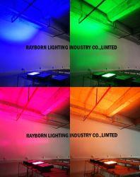 빨간 청록색 색깔 300W 400W 500W 실내 옥외 전등 설비 LED 투광 조명등이 고성능 단계에 의하여 점화한다