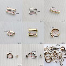핸드백 벨트 또는 옷 액세사리 (YF241-19)를 위한 18.5mm 형식 합금 금속 아치 브리지