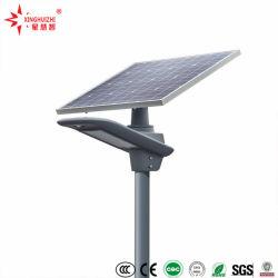 통합 옥외 IP65는 정지한다 PV 모듈 태양 전지판 및 건전지를 가진 1개의 LED 태양 가로등에서 주물을 전부 방수 처리한다