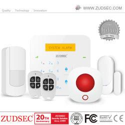 Drahtloses Installationssatz LCD-Bildschirmanzeige-Einbrecher-Feuer-Gas-Warnungs-inländisches Wertpapier-Warnungssystem des G-/MWarnungssystem-SMS intelligentes