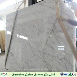 Plakken van Carrara van de decoratie de Materiële Italiaanse Witte Marmeren/Tegels/de Tegels van Coutertops/van de Muur/de Bovenkanten van de Ijdelheid