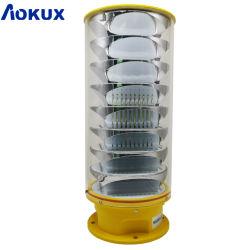 Aokux de Vliegtuigen die van de Luchtvaart van de Hoge Intensiteit van 360 Graden de Lichte Verlichting van het Obstakel waarschuwen
