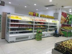 Supermercado Aberto Vertical Refrigerado Exibir Frigorífico Showcase