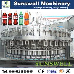 Kleine schaal Automatische gasdrink vulmachine/apparatuur
