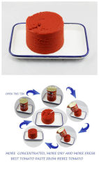Organic 70 G, 210 g, 400 g, 800 G, 1000G, 2200G Nigéria de Tomate