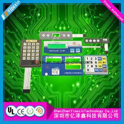 Polydome, das elektronischen Funktionstastatur-Digtal gedruckten Spielzeug-Membranschalter prägt