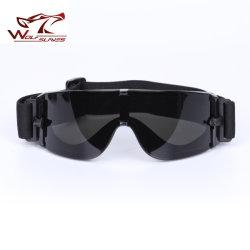 Occhiali di protezione antivento degli occhiali di protezione esterni tattici della neve X800