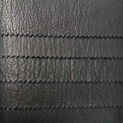 衣服および靴用ブラック高品質 PU レザー( HSK141 )