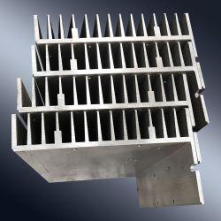 L'utilisation industrielle le dissipateur de chaleur Profil en aluminium 6000 Alliage en aluminium