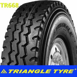 삼각형 상표 광선 관이 없는 TBR는 315/80r22.5 18/20pr Tr663/Tr668/Try66/Tr665/Tr666/Tr686/Tr688/Trd06/Trd08/Tr918/Tr880 다이아몬드 무늬가 있는 동물 트럭 타이어 공장을 피로하게 한다