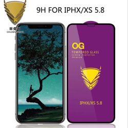 Protezione dorata dello schermo di vetro Tempered dell'armatura/Ceramic/PMMA+Pet per onore 20/Oppo/Vivo/Nokia/Xiaomi 9 di iPhone 11/Samsung A90/Huawei