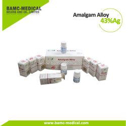 Gk 43%AG en alliage d'amalgames dentaires la poudre de matériaux de remplissage