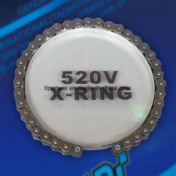 Catena di trasmissione multicolore ad alte prestazioni con anelli a X da 520 V.